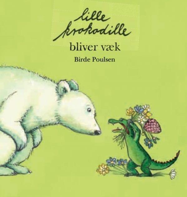 Lille krokodille bliver væk. Gode bøger til små børn