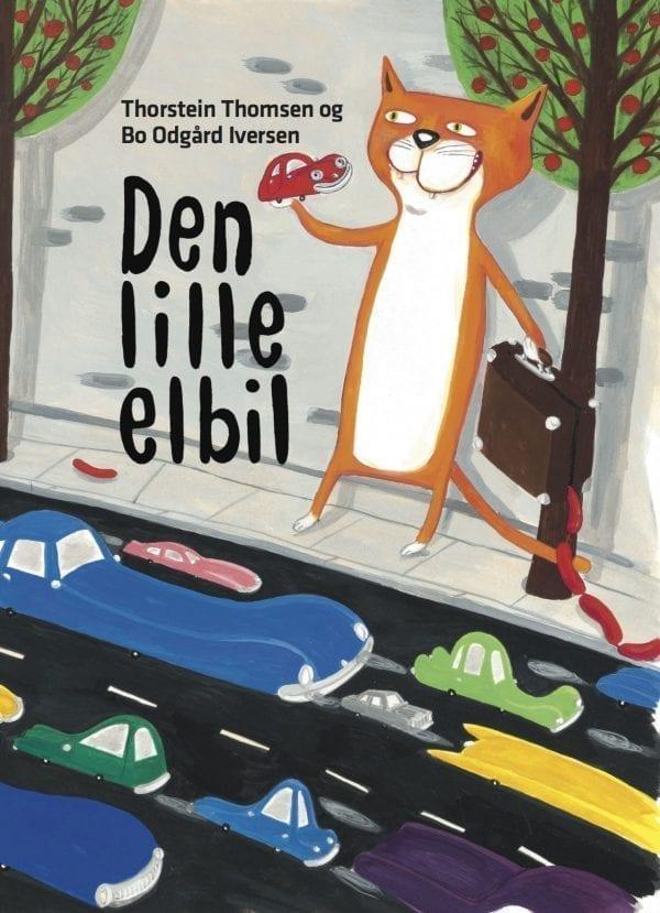 'Den lille elbil' – billedbog til børn, der elsker rim og remser