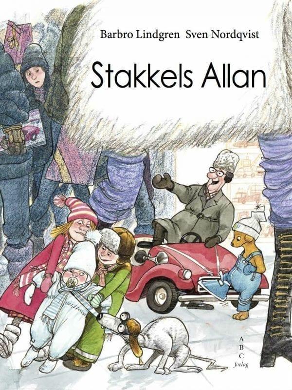 Børnebogen 'Stakkels Allen' - om at fare vild i et stormagasin