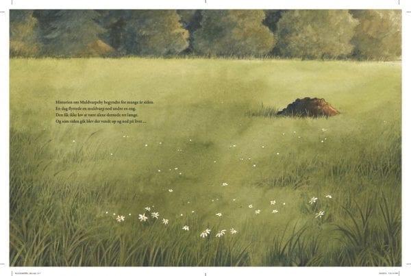 Én muldvarpe bliver nemt til mange! Læs MULDVARPE-BY!