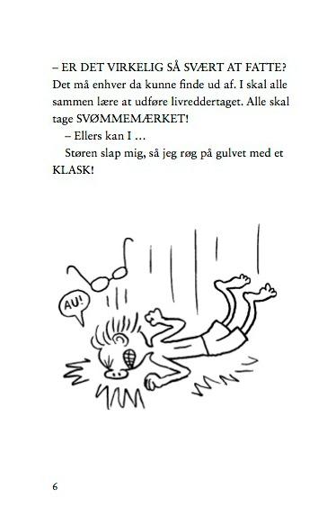 Vanvittig bog om Ruben, der har vandskræk!
