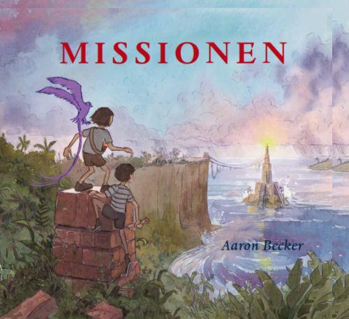 Aron Becker Missionen - billedbøger uden ord