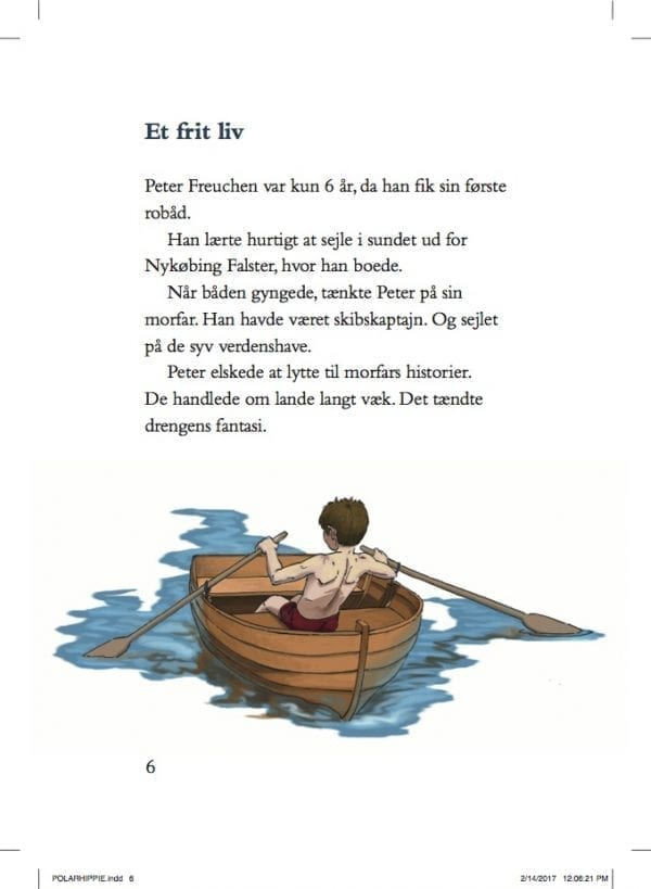 Polarhippie. Eventyreren Peter Freuchen - de unge år; e-bog