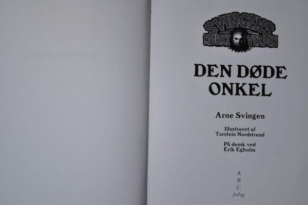 Den døde onkel - e-bog