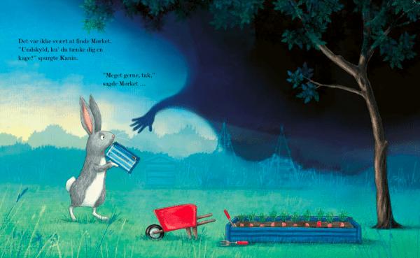 Kaninen, mørket og kagedåsen