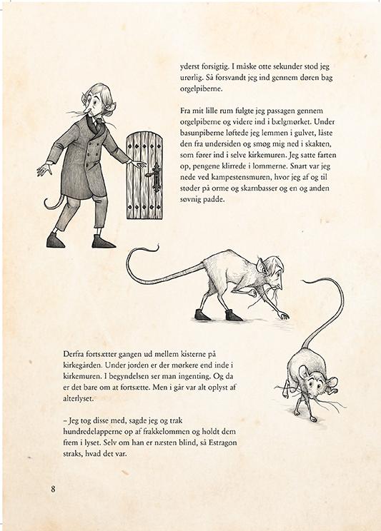 Rottefængeren fra Sorø (Estragons historier - Bind 1 af 7 om de 7 dødssynder)